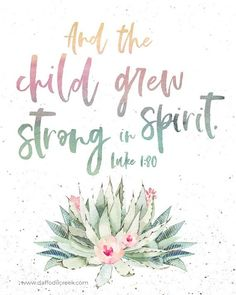 Girls Tribal Nursery Print with Bible Verse - Cactus Nursery Décor for baby girl Bible Verses For Girls, Nursery Bible Verses, Bible Verses Quotes, Quotes For Kids, Bible Quotes For Children, Baptism Quotes Bible, Scripture About Children, Faith Quotes, Baptism Verses
