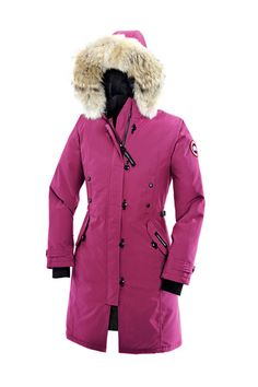 Canada Goose Kensington Parka Women Summit Pink With Fast Delivery - $319