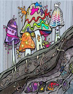 Mushrooms by Kats Elixir