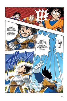 Read Dragon Ball Full Color - Saiyan Arc Chapter 33 Page 5 Online For Free Dbz Manga, Manga Dragon, Dragon Ball Z, Fun Comics, Anime Comics, Comic Book Template, Black Anime Characters, Comic Book Style, Z Arts