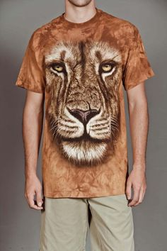 LION WARRIOR TEE by THE MOUNTAIN @ Jack Threads