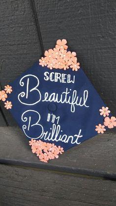 My graduation cap inspired by Grey's Anatomy! #classof2017 #nau #greysanatomyquotes