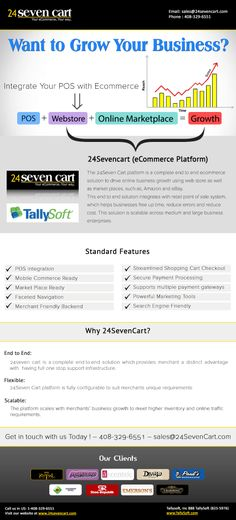 24SevenCart (eCommerce Platform) offers tally soft eCommerce integration with Advanced Features.
