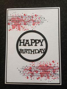 Gorgeous grunge stampin up card