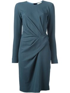 LANVIN Long Sleeved Wrap Dress. #lanvin #cloth #dress