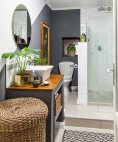 Are you a homeowner looking for a way to create an escape space for yourself in the comfort of your own home? Upstairs Bathrooms, Small Bathroom, Attic Bathroom, Bathroom Curtains, Lake Bathroom, Bathroom Faucets, Bathroom Ideas, Africa Nature, Apartment Living