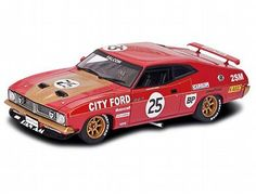 The Ford XB Falcon is part of the Scalextric Classic Cars range - Discounts on all Scalextric items at Wonderland Models.