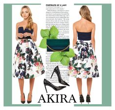 """AKIRA I/15"" by amra-mak ❤ liked on Polyvore featuring Akira Black Label, Sam Edelman, Elie Saab and shopakira"
