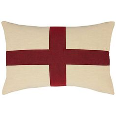 John Lewis Giant St Georges Cushion, Multicoloured - £40