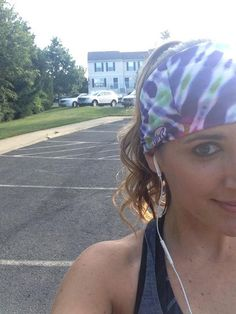 """""""Can't get enough of my headwear! Logging miles, running far! Smart Kit, Haircuts, Running, Twitter, Friends, How To Wear, Amigos, Hair Cuts, Keep Running"""