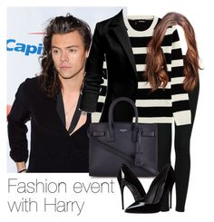 """Fashion event with Harry"" by style-with-one-direction ❤ liked on Polyvore featuring Topshop, The Kooples, Yves Saint Laurent, Dolce&Gabbana, OneDirection, harrystyles, 1d and harry styles one direction 1d"