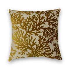 Pillows, Pillow Covers, Throw Pillows, Coral Pillows, Yellow Pillows, Abstract Pillows, Ciao Bella Designs