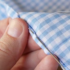How to hand sew a rolled hem. How-to: Make a Scarf Out of Almost Anything   HandsOccupied.com