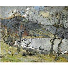 Anne Redpath, st mary's loch