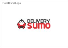 Logo Design For Delivery Sumo, a food delivery place.