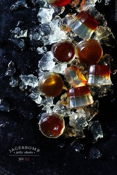 Jagerbomb Jelly Shots
