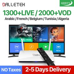 Cheap iptv subscription 1 year, Buy Quality arabic french directly from China box tv receiver Suppliers: Dalletektv Android IPTV Box TV Receivers Arabic French IPTV Subscription 1 Year QHDTV Dutch Belgium Arab France IPTV Box VOD