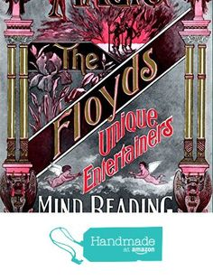 """The Floyds - Magic, Mind Reading"" A4 Glossy Vintage Magicians' Poster Art Print from The Andromeda Print Emporium https://www.amazon.co.uk/dp/B07213BN3H/ref=hnd_sw_r_pi_dp_Es9nzbFP7CED1 #handmadeatamazon"