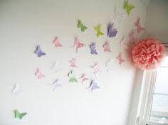 Resultado de imagen para decoracion de paredes con mariposas