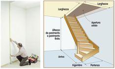 Scala in legno fai da te scala in legno costruire una scala come costruire una scala di legno - Calcolo scale interne ...