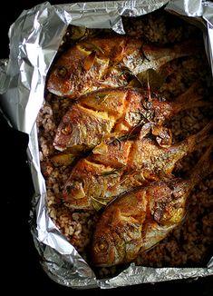 Oriental Fish Rice