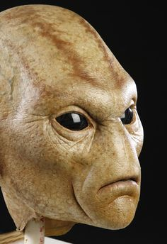 MEN IN BLACK II (2002) - First Contact Alien Mask and Hands - Price Estimate: $1500 - $2000