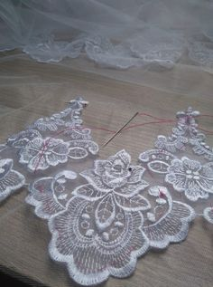 Wedding, Home Decor, Lace, Embroidery, Valentines Day Weddings, Decoration Home, Room Decor, Weddings, Home Interior Design