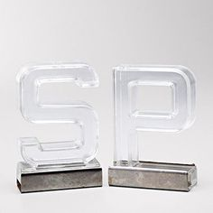 """S"" And ""P"" Salt And Pepper Shakers"