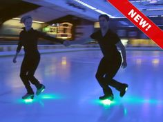 Skating on Light! by Ralph Haney — Kickstarter.  The most FUN you will ever have skating! Glo-Blades create your own personal light show on ice and Rollerblades! Fully rechargeable!