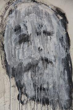 Mask Acrylic on paper on canvas 73x51 cm 2007 © Karino Amade