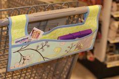 Shopping Cart Caddy – Free Tutorial