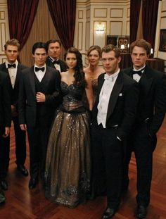 Vampire Diaries. Elena's ball gown