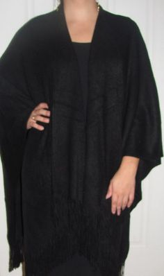 Warm ruana cape wraps for women are a must have for lounging at home, for work, for an evening out and for travel. A must have!