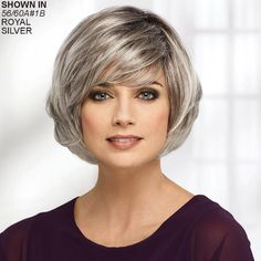 2019 Human Short Wigs Grey Short Hair Wig Ombre Bob With Lace Front Remy Hair Wigs Hairline Glueless Stacked Bob Hairstyles, Short Bob Haircuts, Hairstyles Haircuts, Grey Hair Wig, Short Hair Wigs, Hair Pieces, Hair Trends, Curly Hair Styles, Wig Styles