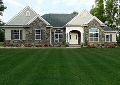Custom homes floor plans: The Litchfield ranch floor plan by Wayne Homes