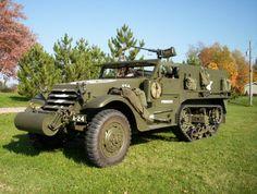 1943 M3 Autocar half-track. Military Vehicle Repair and Restoration - default.html