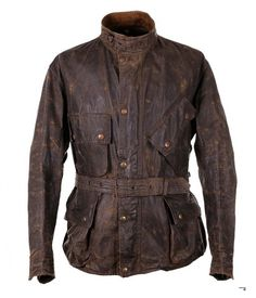 Barbour International motorcycle jacket 1950s Vintage Menswear