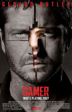 High resolution official theatrical movie poster ( of for Gamer Image dimensions: 1840 x Starring Gerard Butler, Michael C. Sci Fi Movies, Top Movies, Action Movies, Great Movies, Movies To Watch, Awesome Movies, Awesome Games, Action Film, Indie Movies