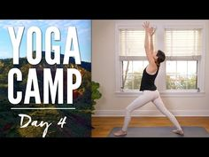 Yoga Camp Day 4 - I Awaken - YouTube.Published on Jan 5, 2016Yoga Camp - Day 4 is here with the mantra AWAKEN. This yoga practice is a tune in, a check in - a wake up call. Notice your breath and shake it up. What do you want to awaken? Move with intention and you trim and tone. Wake up the body, find support, build strength and soothe your soul. Time to stir the pot, move the furniture. Trust it and enjoy!