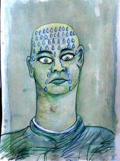 Grafica y Dibujo: lágrimas