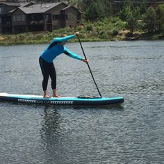 Comfortable with Sweet Waterwear performance gear and KIALOA Paddles inflatable Napali board