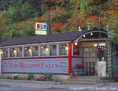 VERMONT DINER DIRECTORY - Miss Bellows Falls Diner - Bellows Falls, VT