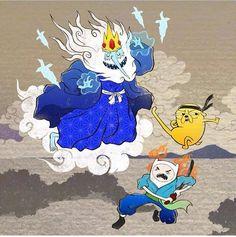 Tags: Adventure Time, Finn Mertens, The Human, Jake The Dog, Ice King, Simon Petrikov, Japan, Samurai, Ninja