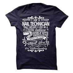 NAIL TECHNICIAN T-Shirts, Hoodies. BUY IT NOW ==► Funny Tee Shirts