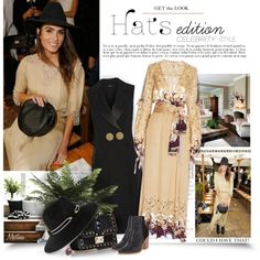 How To Wear Hat Edition Celebrity Style Outfit Idea 2017 - Fashion Trends Ready To Wear For Plus Size, Curvy Women Over 20, 30, 40, 50