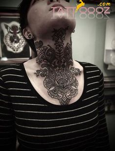 Neck Tattoos for Women,Neck Tattoos for Women designs,Neck Tattoos for Women images,Neck Tattoos for Women ideas,Neck Tattoos for Women tattooing,Neck Tattoos for Women piercing, more for visit:http://tattoooz.com/neck-tattoos-for-women-pictures-meaning-designs/