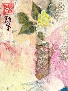 Sumi Cat: Flower Arrangement