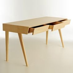 Really pretty desk from Bark Furniture. Its like $5000 :(