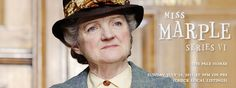 """Loved this series with Agatha Christie's Miss Marple. This actress was also on """"Cranford."""""""