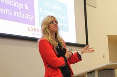 Tracy Halliwell, Director of Business Tourism & Major Events at London & Partners (2013).